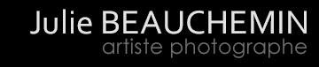 Julie Beauchemin – Photographe Logo