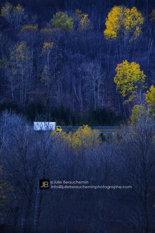 La route comme maison © Julie Beauchemin